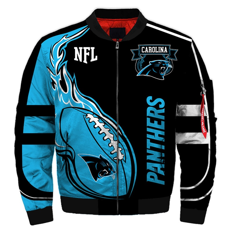 Carolina Panthers bomber jacket