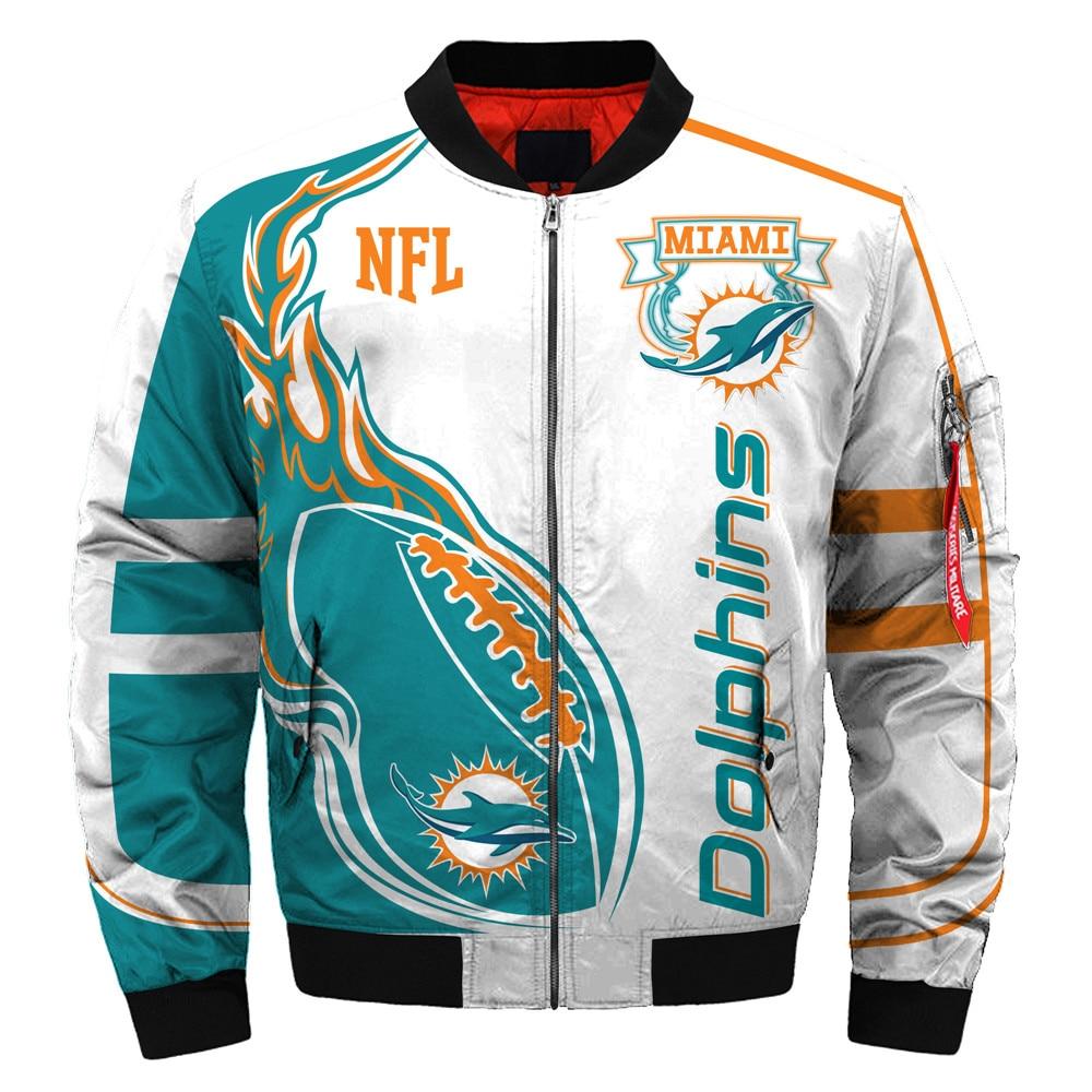 Miami Dolphins bomber jacket