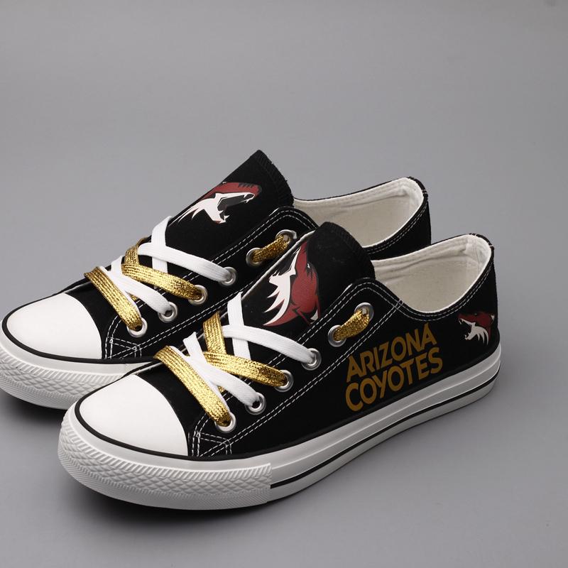 Arizona Coyotes Canvas Shoes