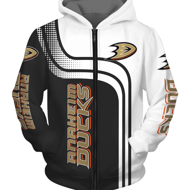 Anaheim Ducks -Zipper-Hoodie