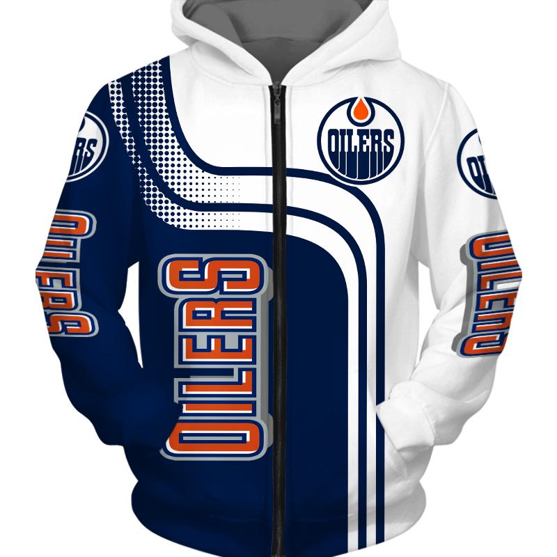 Edmonton Oilers Zipper Hoodie