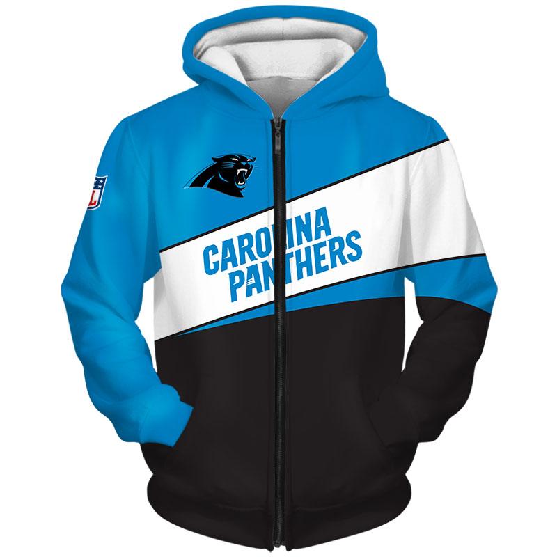 Carolina Panthers Zip Hoodie