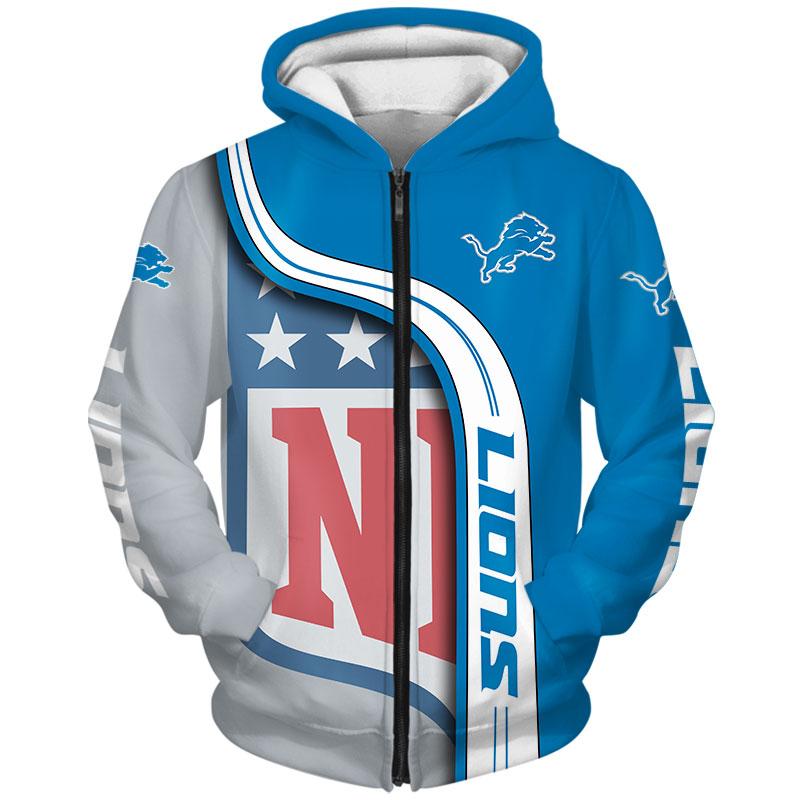 Detroit Lions Zip Hoodie