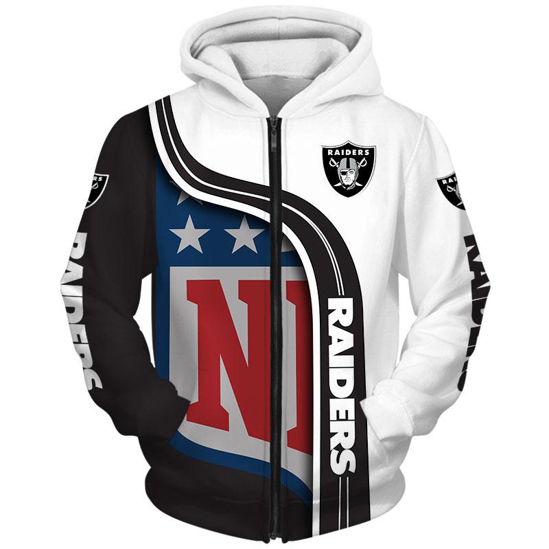 Oakland Raiders Zip-Hoodie