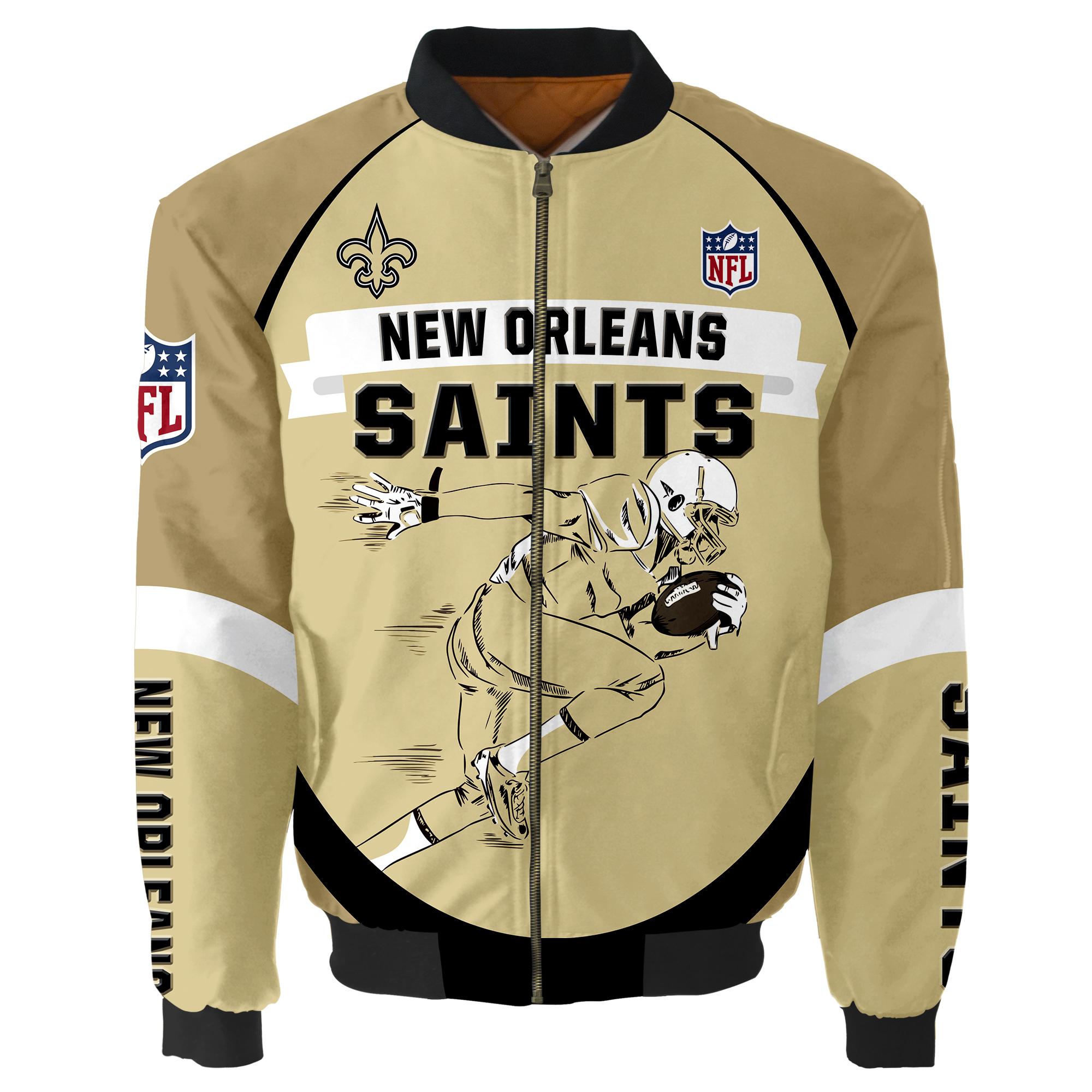 New Orleans Saints Bomber Jacket
