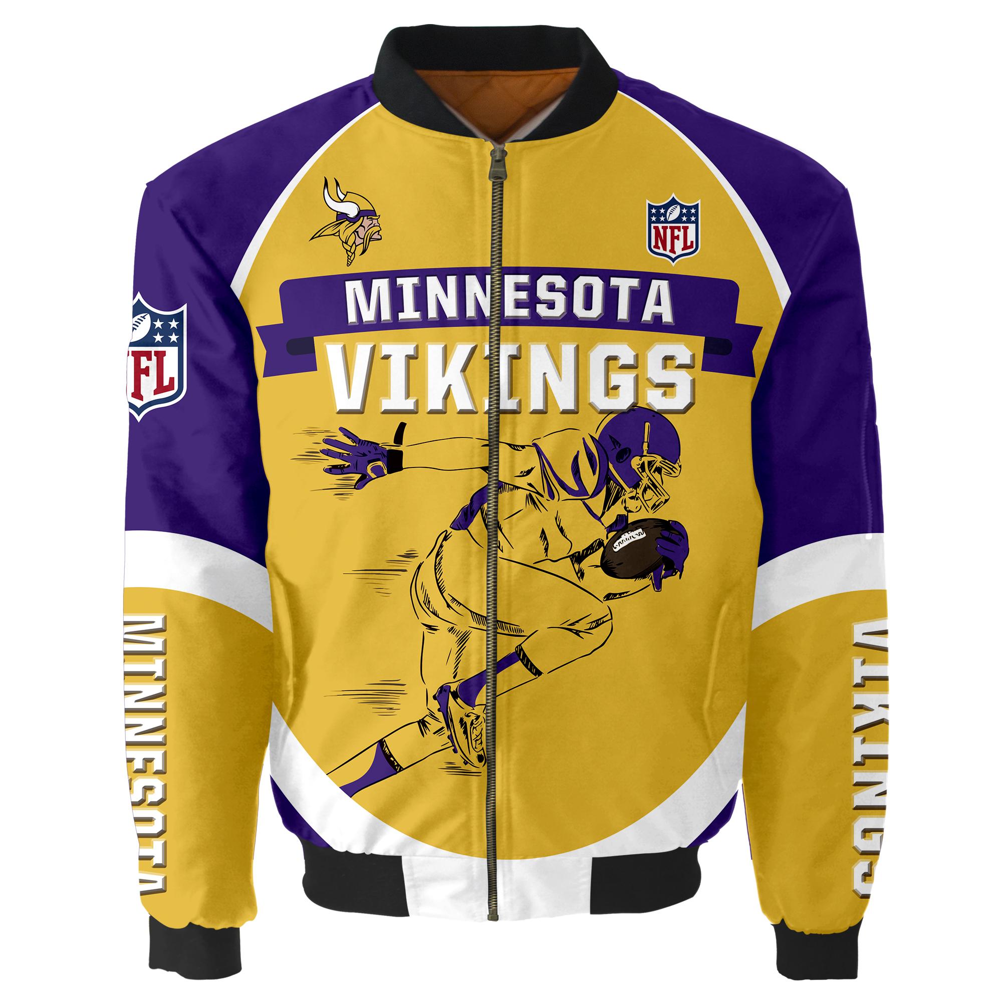 Minnesota Vikings Bomber Jacket