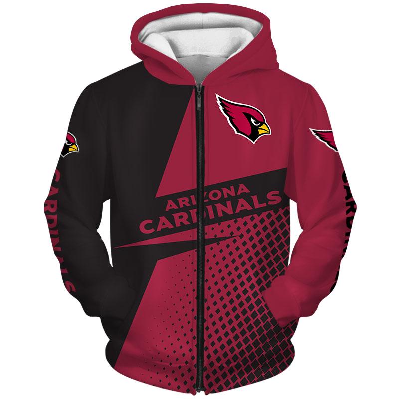 Arizona Cardinals Zip Hoodie
