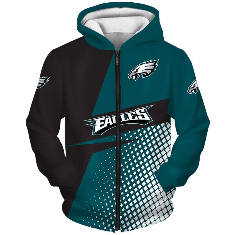 Philadelphia Eagles Zip Hoodie
