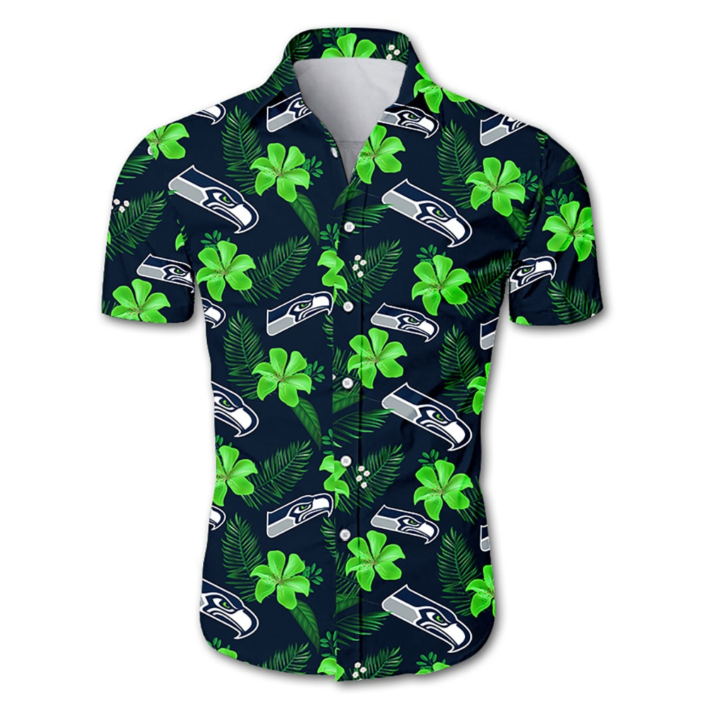 Seattle Seahawks Hawaiian Shirt