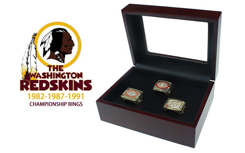 Washington Redskin Super Bowl rings