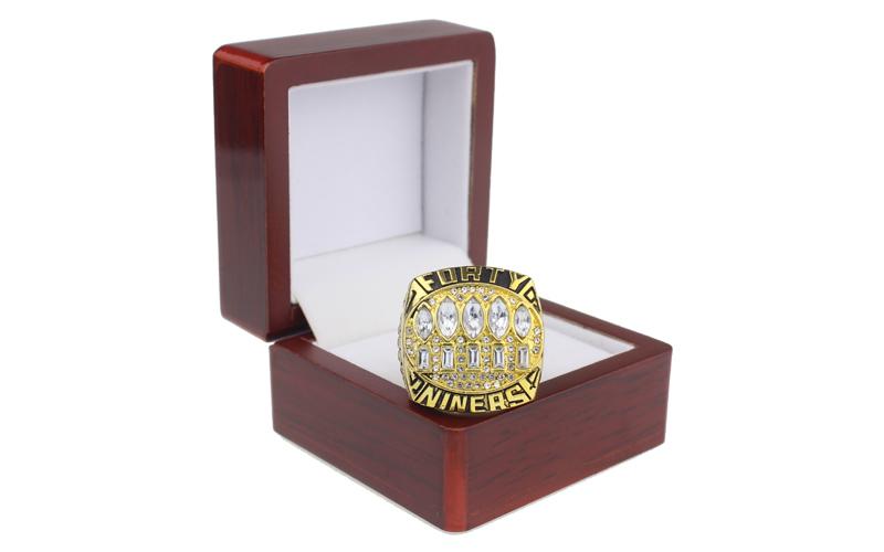 San Francisco 49ers Super Bowl ring
