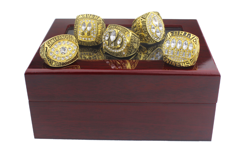 San Francisco 49ers Super Bowl Rings