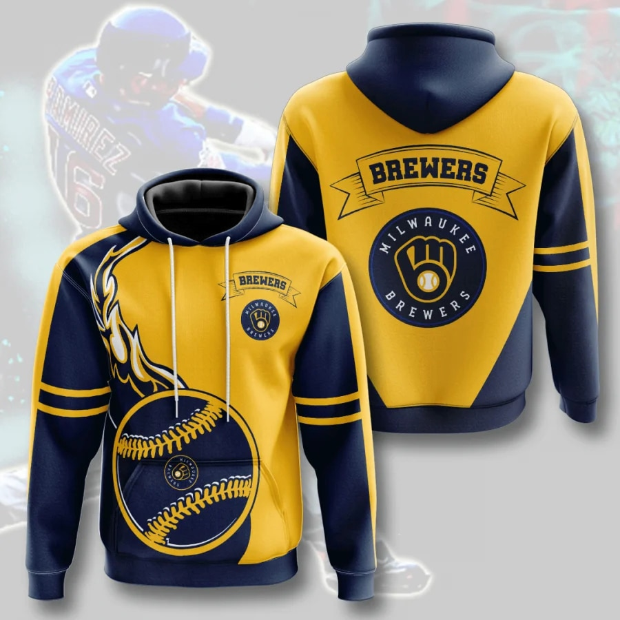 Milwaukee Brewers Hoodies