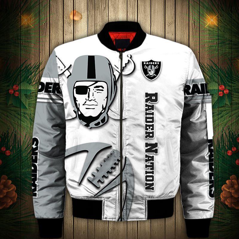 Las Vegas Raiders Bomber Jacket