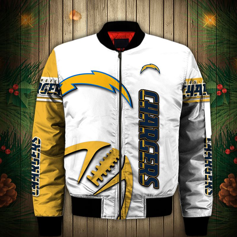 Los Angeles Chargers Bomber Jacket
