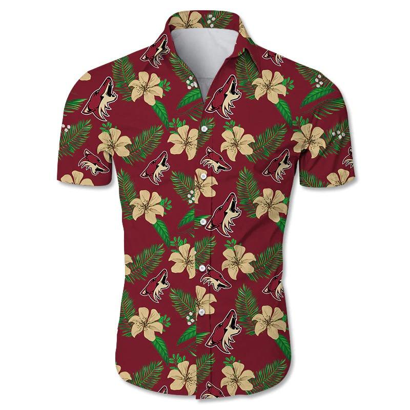 Arizona Coyotes Hawaiian Shirt