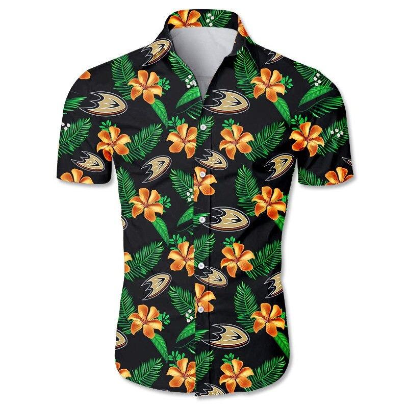 Anaheim Ducks Hawaiian shirt