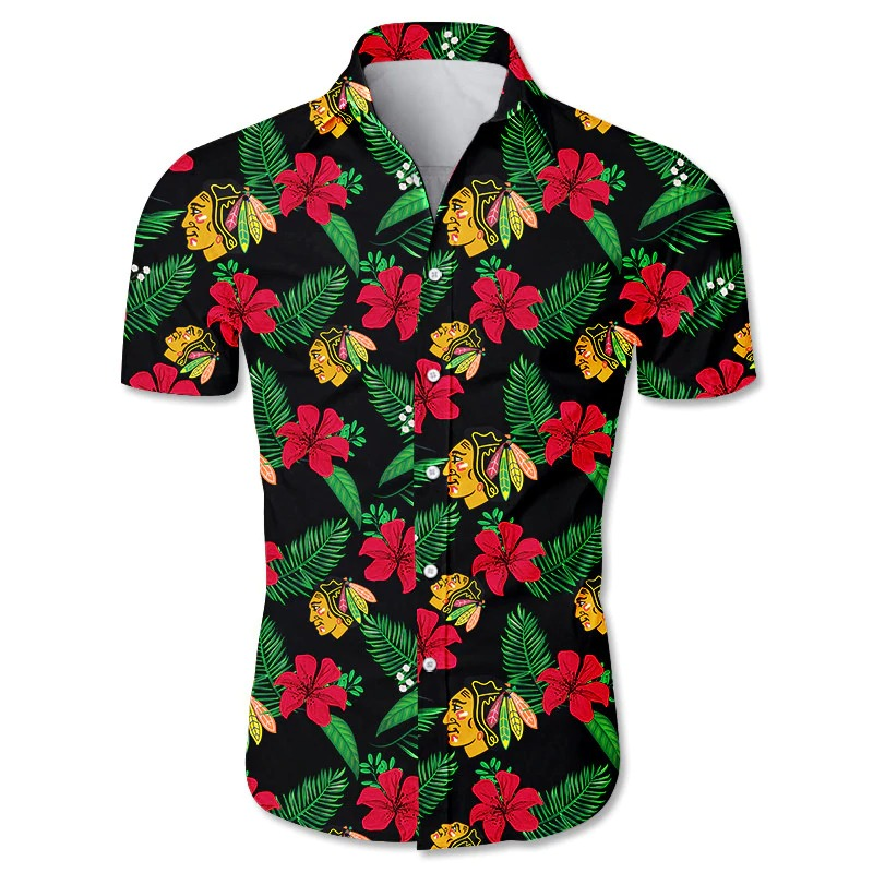 Chicago Blackhawks Hawaiian shirt