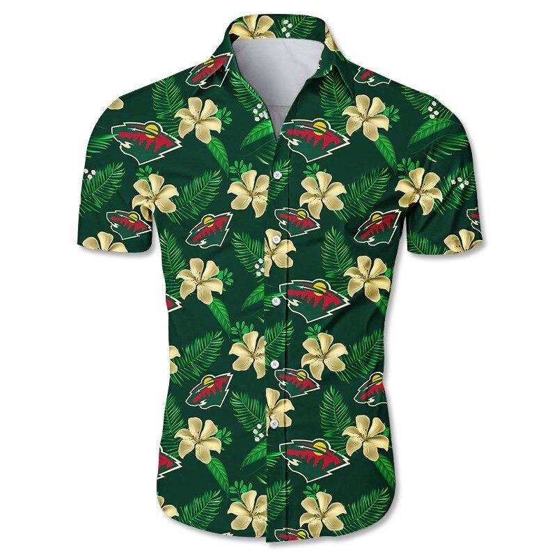 Minnesota Wild Hawaiian Shirt