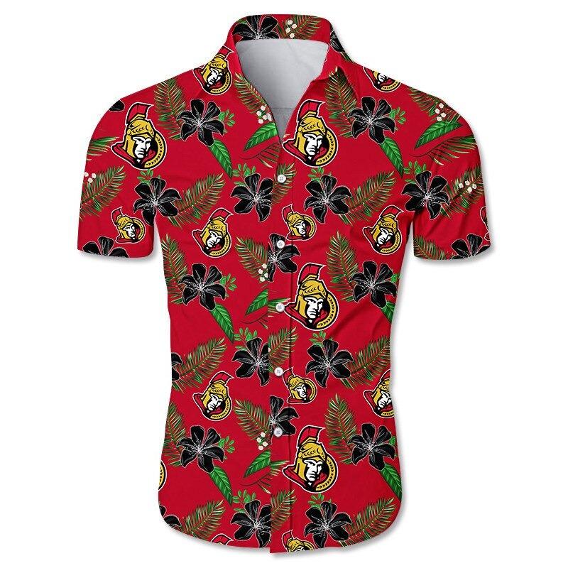 Ottawa Senators Hawaiian Shirt