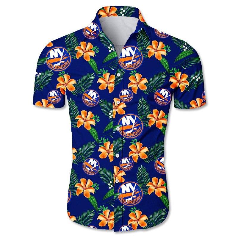 New York Islanders Hawaiian Shirt