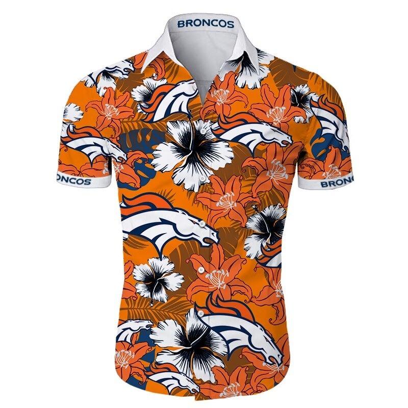 Denver Broncos Hawaiian Shirt