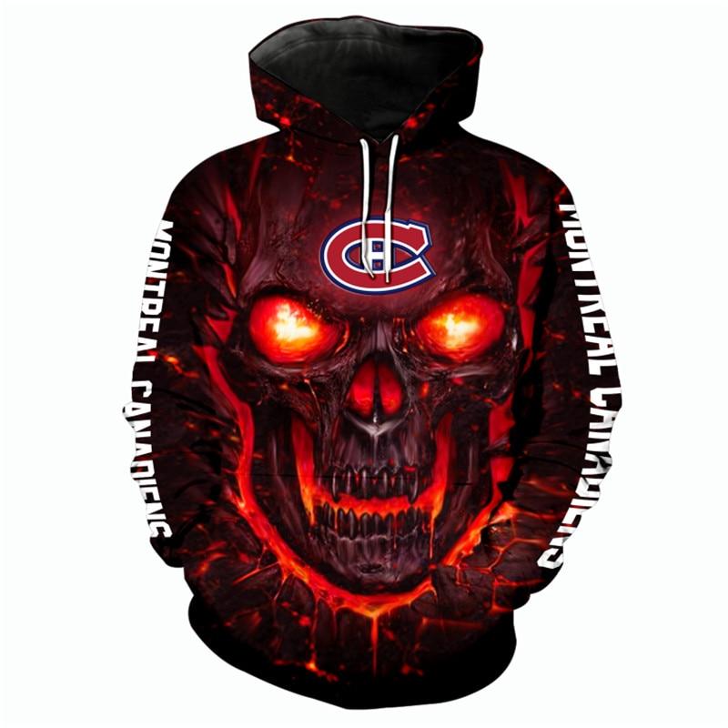 Montreal Canadiens Halloween Hoodie