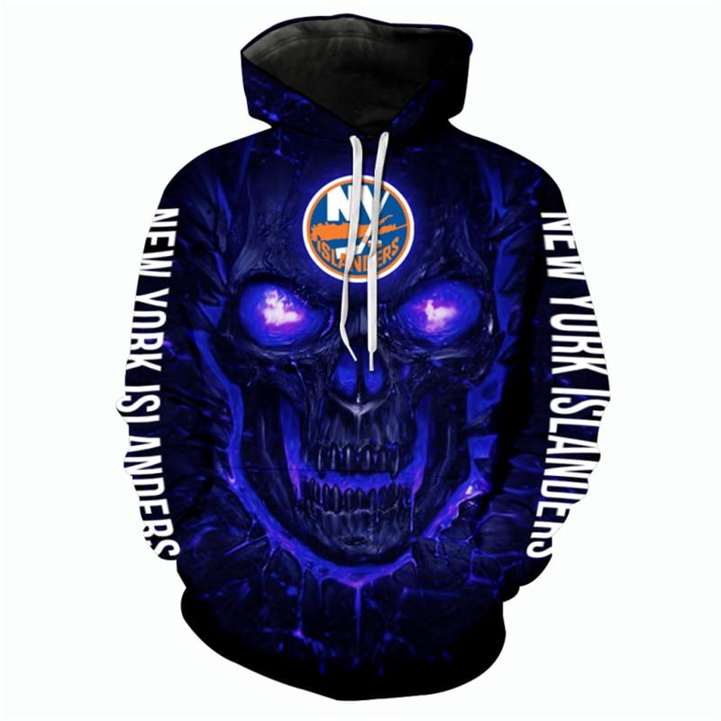 New York Islanders Halloween Hoodie