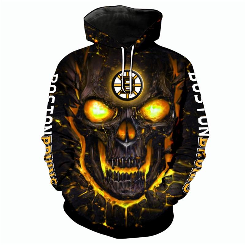 Boston Bruins Halloween Hoodie