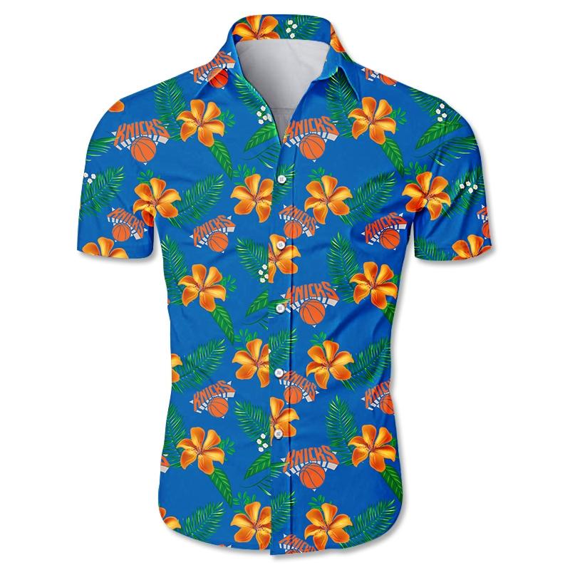 New York Knicks Hawaiian shirt