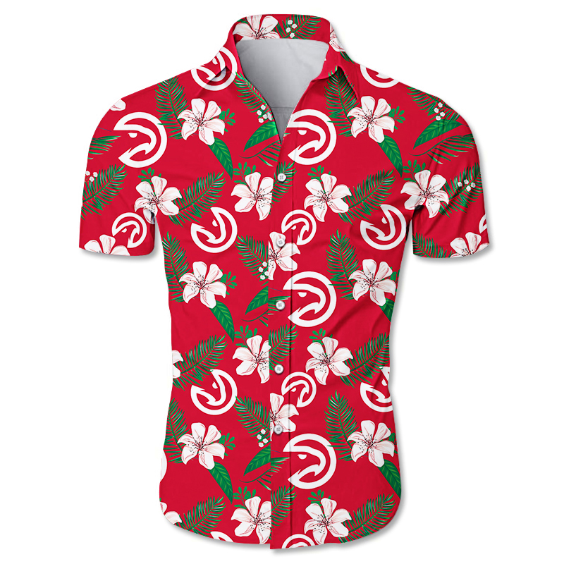 Atlanta Hawks Hawaiian shirt