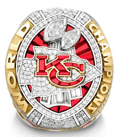 Kansas City Chiefs ring 2020