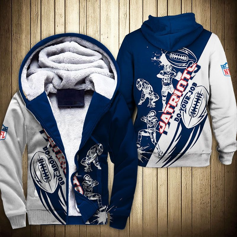 New England Patriots Fleece Jacket