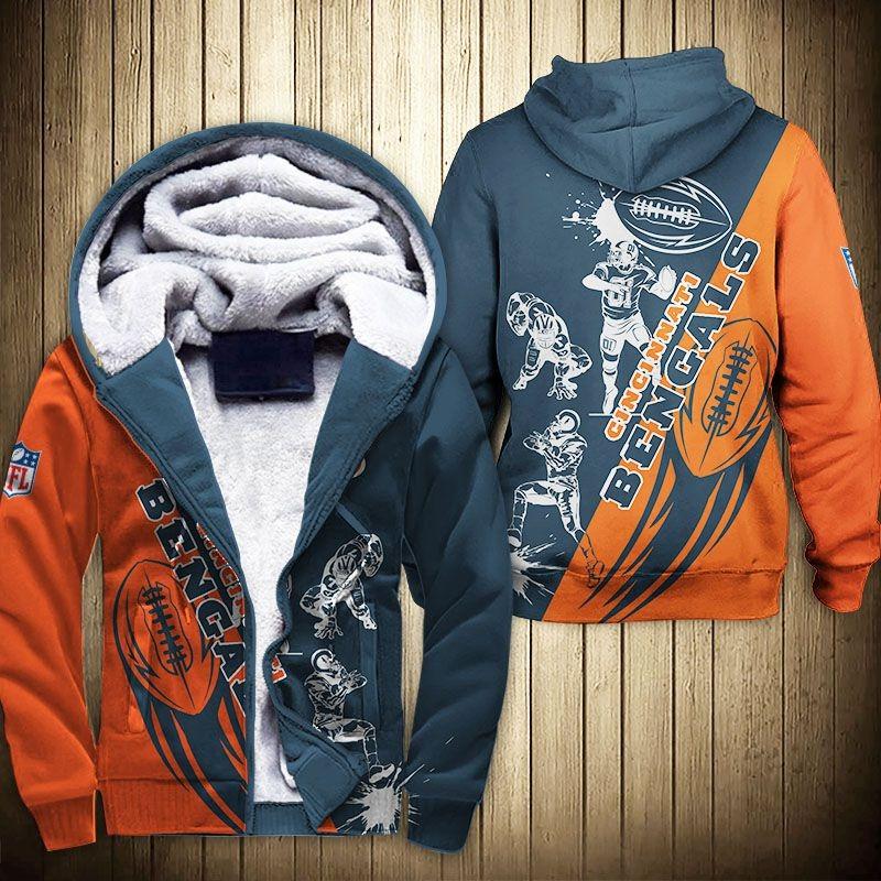 Cincinnati Bengals Fleece Jacket