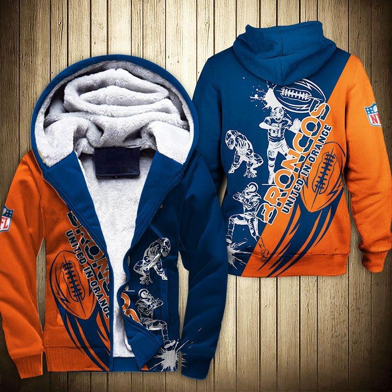 Denver Broncos Fleece Jacket
