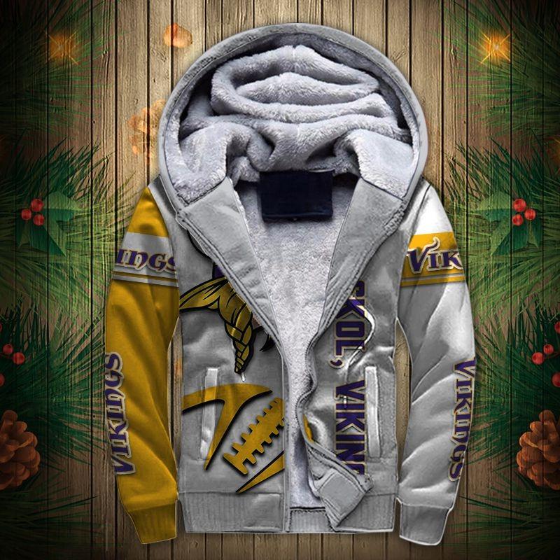 Minnesota Vikings Fleece Jacket
