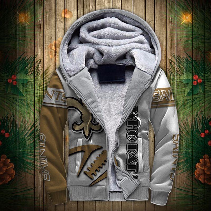 New Orleans Saints Fleece Jacket