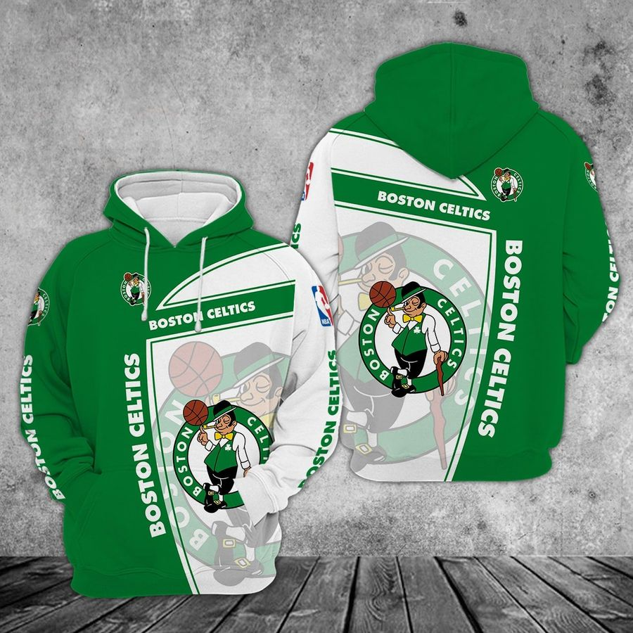Boston Celtics zip hoodie