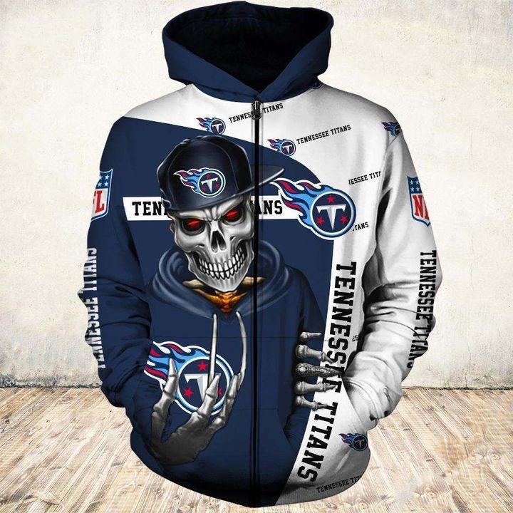 Tennessee Titans Zip Hoodie