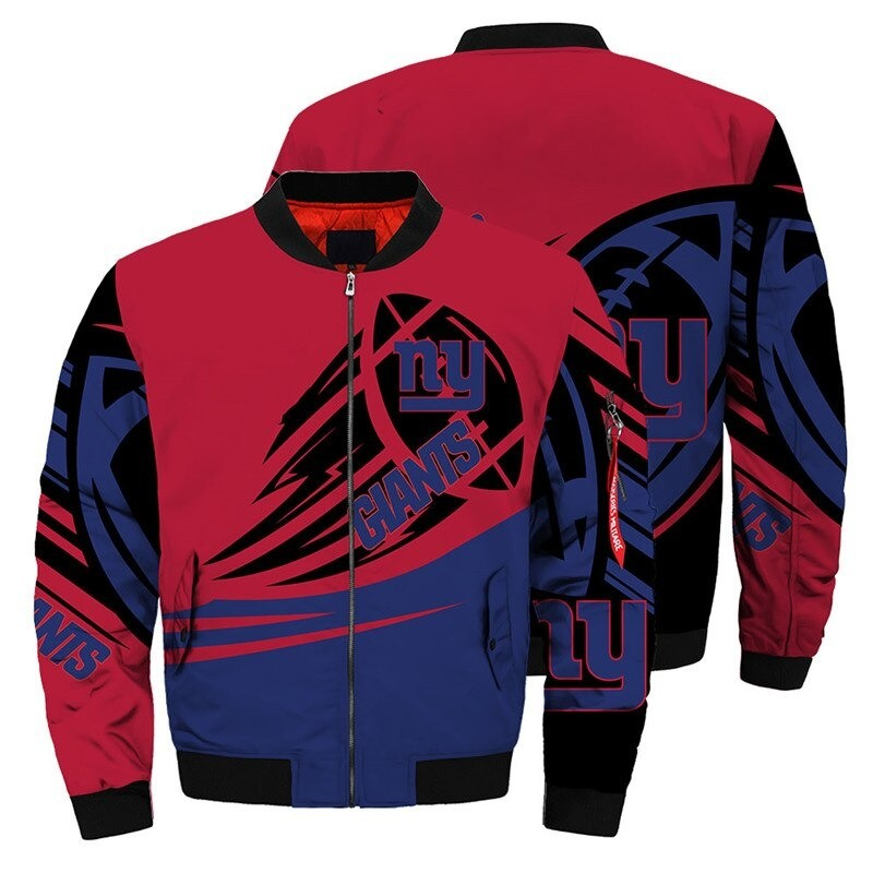 New York Giants Bomber Jacket