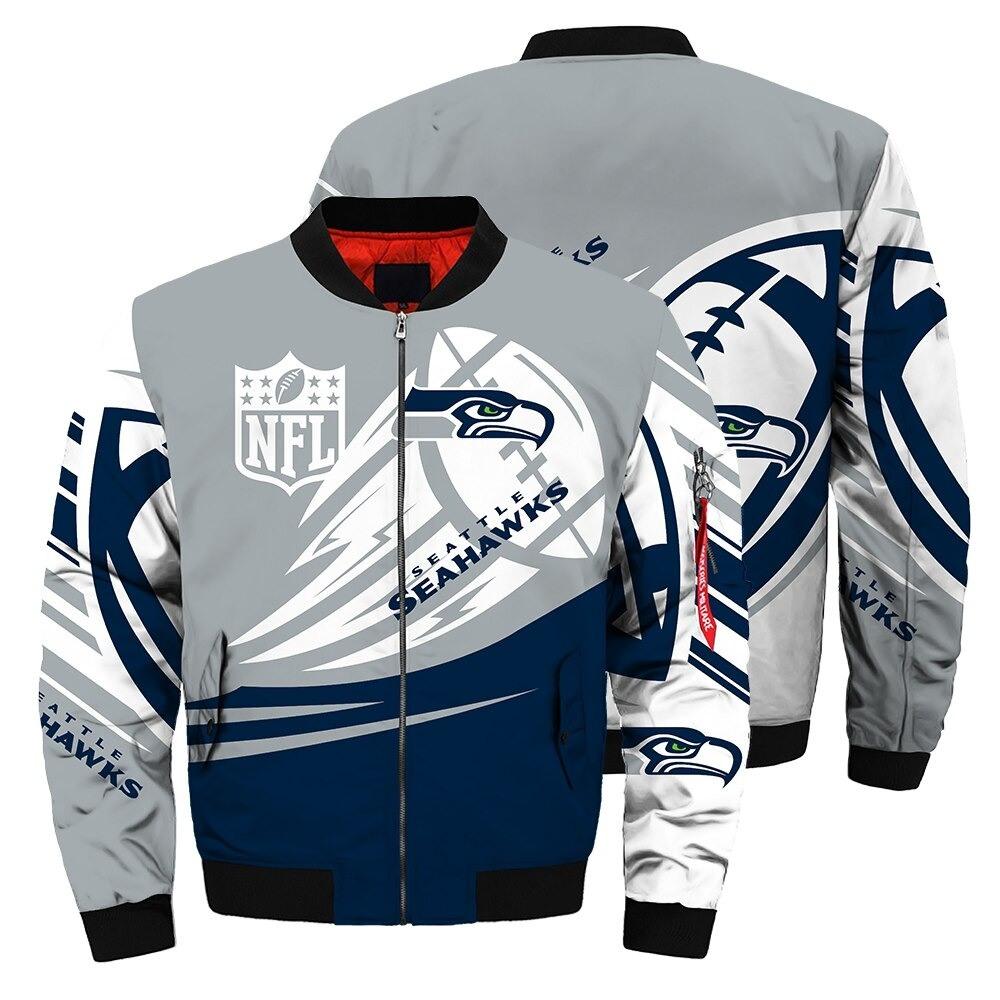 Seattle Seahawks Bomber Jacket