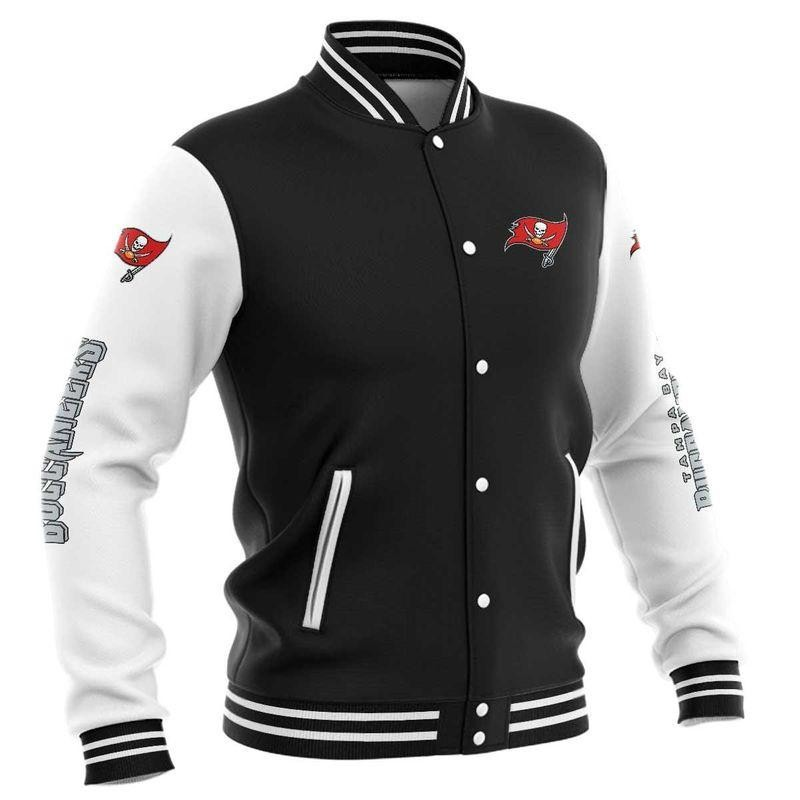 Tampa Bay Buccaneers Baseball Jacket
