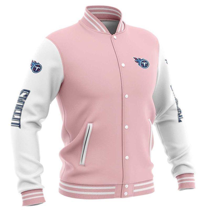 Tennessee Titans Baseball Jacket