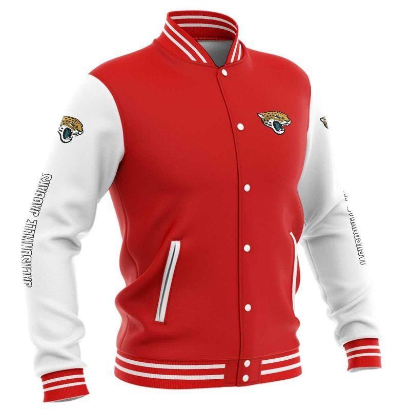 Jacksonville Jaguars Baseball Jacket