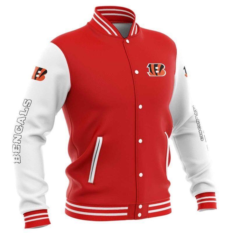 Cincinnati Bengals Baseball Jacket