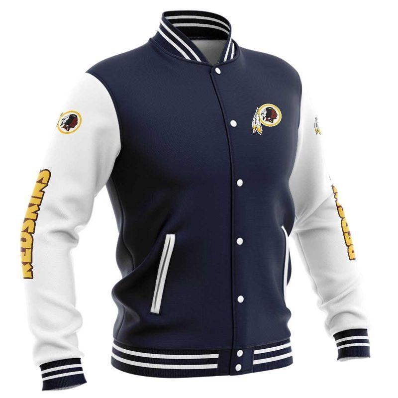 Washington Football Team Baseball Jacket