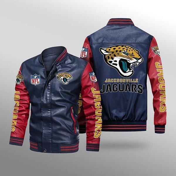 Jacksonville Jaguars Leather Jacket