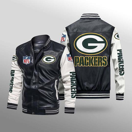 Green Bay Packers Leather Jacket