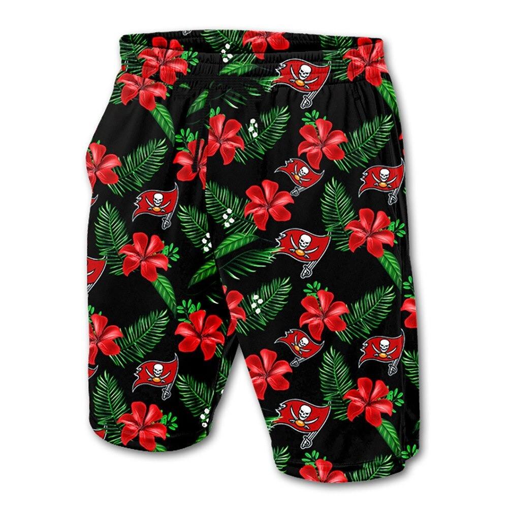 Tampa Bay Buccaneers Hawaiian Shorts