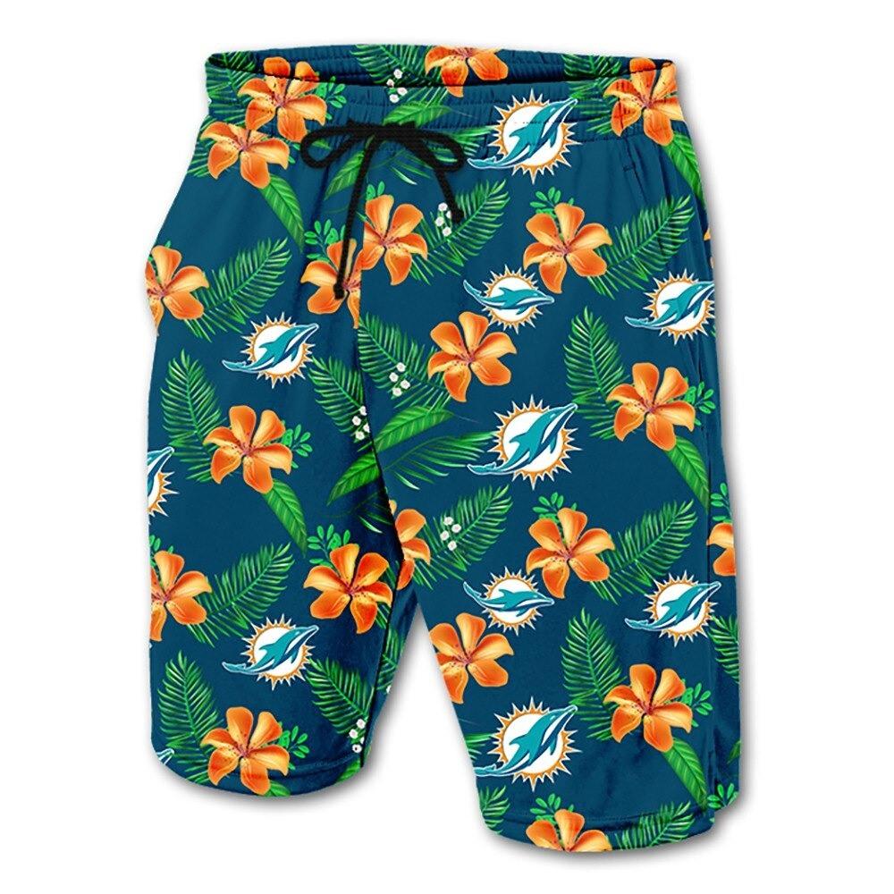 Miami Dolphins Hawaiian Shorts